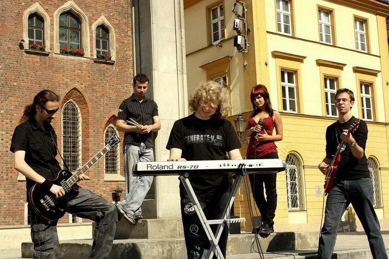 Sesja na wrocławskim Rynku